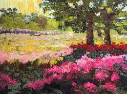 #garden #painting #summer