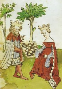 St. Thomas guild - medieval woodworking, furniture and other crafts: Faulty medieval chess boards