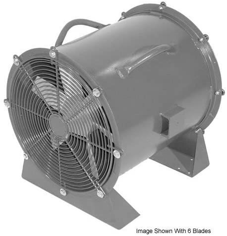 americraft 30 quot steel propeller fan with low stand 1 2 hp 8400 cfm in 2020 portable ventilation flexible duct hunter nickel ceiling