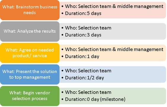 Vendor Selection Process With Sample Selection Plan Template