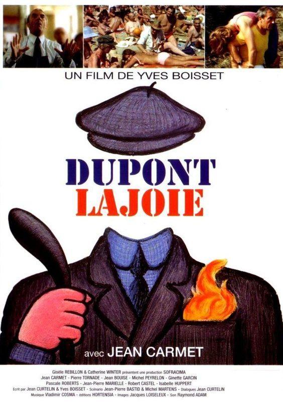 """(Yves Boisset - 1975) - """"Souviens-toi de mon frère..."""" - Archétype du français moyen, le cafetier Georges Lajoie passe ses vacances en camping au milieu d'amis. Sur un coup de folie, il tue en tentant de la violer la fille de l'un d'eux et dépose le corps près d'un chantier. Le racisme fait le reste, et une ratonnade éclair coûte la vie à un travailleur immigré, que son frère vengera par le sang."""