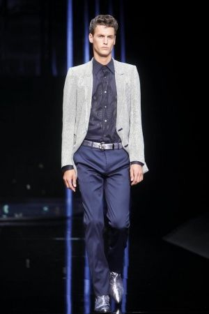 Roberto Cavalli Spring Summer Menswear 2013 via www.nowfashion.com