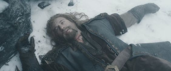 Fili - The Fallen - The Hobbit: Battle of Five Armies | I wanted to grab an ax and plant it into Azog's skull.