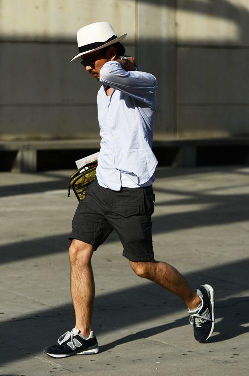 #dandy #hat #chapeau #lunettes #sunglasses #glasses #shirt #chemise #short #bermuda #blackshort #shoes #sneakers #newbalance #chaussures #casual #casualstyle #menstyle #fashion #mode #modehomme #style #menfashion #summer #été #homme #men #outfit