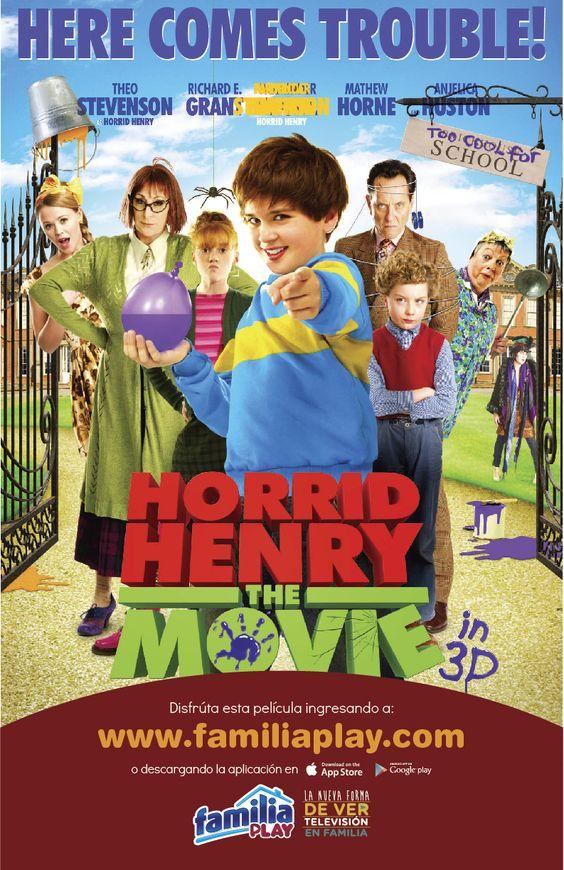 Este domingo disfruta de una mañana llena de risas con tus hijos :) viendo en Familia Play las travesuras de Henry, ingresa aquí: http://goo.gl/XDTZuH ¡Es gratis!