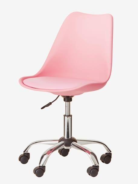 Chaise De Bureau Primaire à Roulettes Vertbaudet Enfant Chaise Bureau Chaise De Bureau Fille Chaise Bureau Enfant