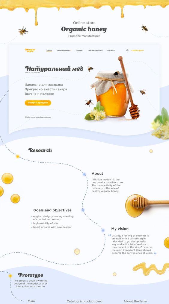Mishkin Medok Website on Behance