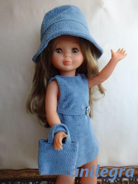 ANILEGRA COSE PARA NANCY: Tengo una muñeca vestida de azul AGOTADO