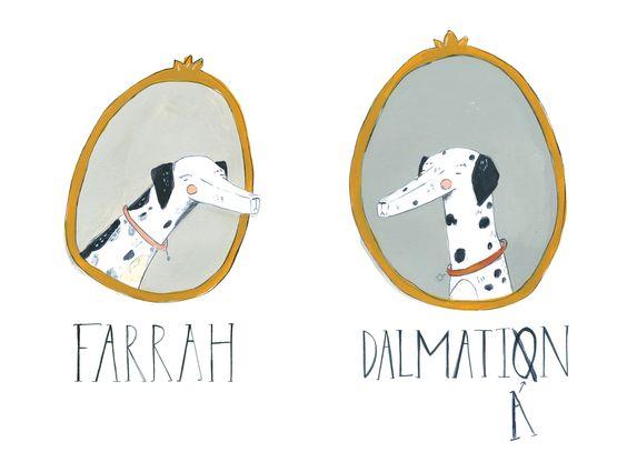 dalmatian illustration - Google Search