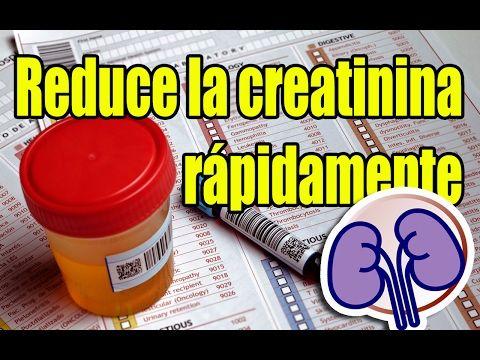 Bajar creatinina remedios naturales