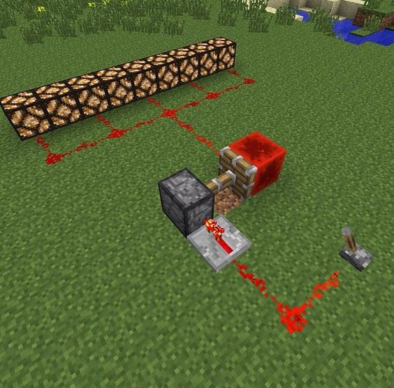 how to make a redstone lanterns in minecraft