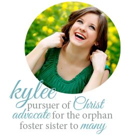 kylee's blog - foster sister to many.  This link goes to her posts about foster and adoption.