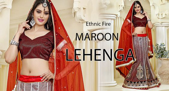 Hytrend offers latest collection of lehenga and lehenga sarees. Manufactured with exclusive fabrics, which will feel you the center of attraction in every occasion or festival. Shop Here >> http://hytrend.com/women/ethnic-wear/lehenga.html