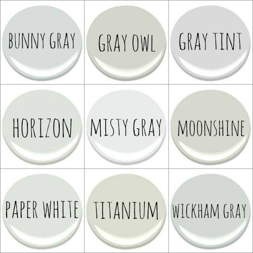 Benjamin moore bunny gray gray owl gray tint horizon for Benjamin moore pewter 2121 30