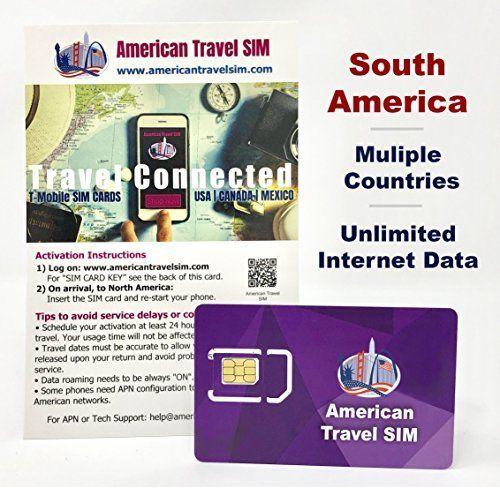 Mehr Infos Prepaid Sim Karte Usa Und Sudamerika Unbegrenzte Daten