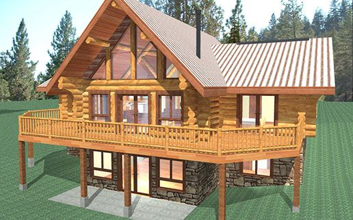 Best Images About Cabin Plans On Pinterest Nd Floor Elk And - Camp dancing bear log home