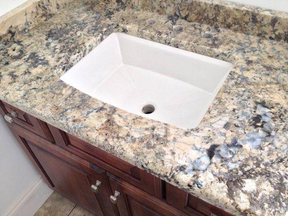 undermount kohler archer and more granite vanity tops undermount sink ...