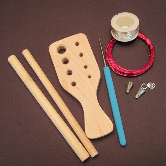 Knitting Jewelry Kits : Viking knit kit wire knitting beading pinterest
