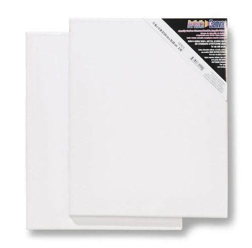 Darice11-Inch-by-14-Inch Stretched Canvas, 2-Pack Darice: