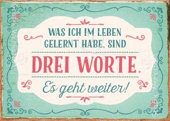 Drei Worte - Postkarten - Grafik Werkstatt Bielefeld