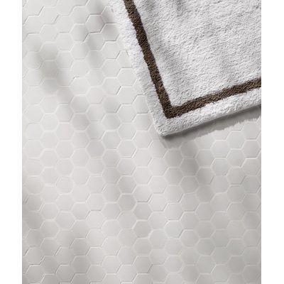 "EliteTile Retro Hexagon 2"" x 2"" HePorcelain Mosaic Tile in White"