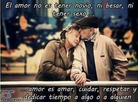 El amor noe s tener novio, ni besar, ni tener sexo... ...amor es amar, cuidar, respetar y dedicar tiempo a algo o alguien.