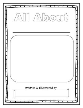 Writing all about books 2nd grade