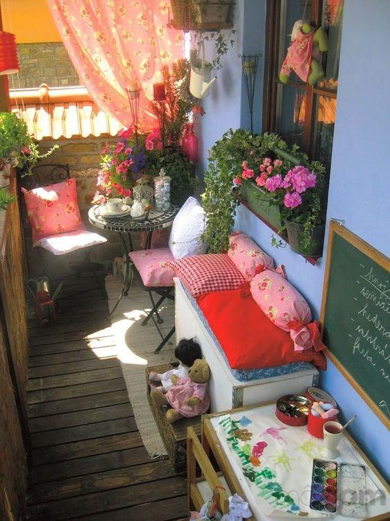 30 Ideas para decorar el pequeño balcón de tu casa | Vida Lúcida