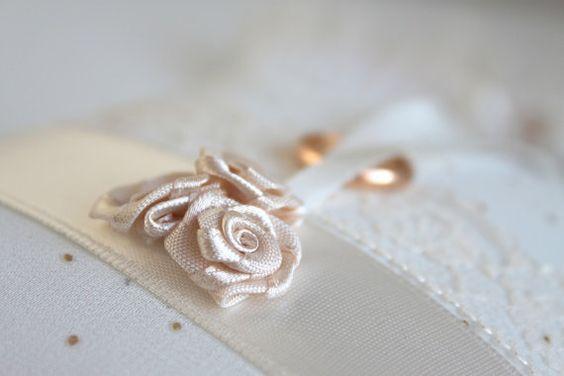 romantic ivory ring bearer, ring bearer pillow, ivory ring pillow, romantic beige ring bearer, beige ring bearer pillow, beige ring pillow, etsy