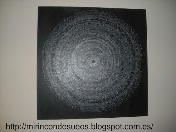 Cuadro en blanco y negro hacer cuadros faciles - Cuadros modernos blanco y negro ...