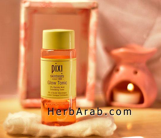 مدونة اي هيرب بالعربي تونر Pixi الاصلي وماهي تجربتي مع بيكسي للتفتيح اي هيرب Tonic Glow Tonic Skin