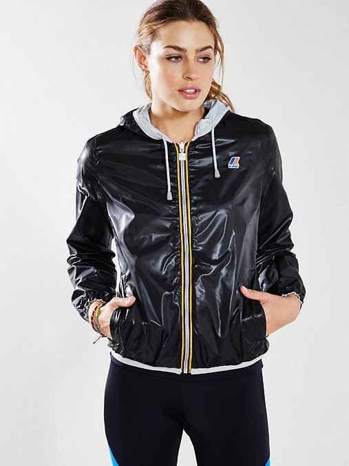 K-Way Lily Reversible Windbreaker Jacket
