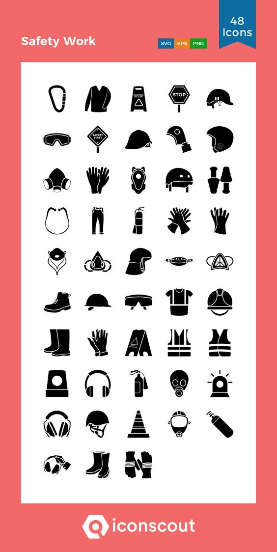 Download Safety Work Icon Pack Available In Svg Png Eps Ai Icon Fonts Work Icon Work Safety Icon Pack