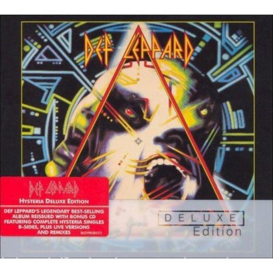 Island Records usa Def Leppard - Hysteria: Deluxe Edition: 2cd