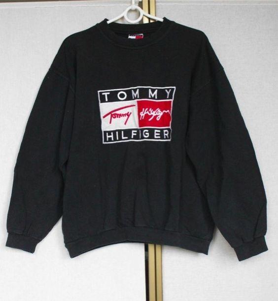 tommy hilfiger sweatshirt sweater jumper m l jumpers tommy hilfiger. Black Bedroom Furniture Sets. Home Design Ideas