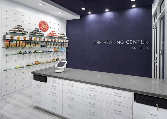 This marijuana dispensary features a high-volume atmosphere in a condensed package. (more: http://vmsd.com/content/portfolio-healing-center-san-diego) Photography: Richard Cadan, Fairfield, Conn.