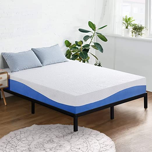Olee Sleep 10 Inch Aquarius Memory Foam Mattress Airflow Ventilation Mattress Cal King In 2020 Top Memory Foam Mattress Foam Mattress Mattress