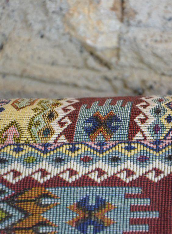 Turkish weaving pattern.