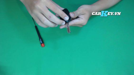 Hướng dẫn thay vỏ chìa khóa ô tô Chevrolet - Carkey.vn