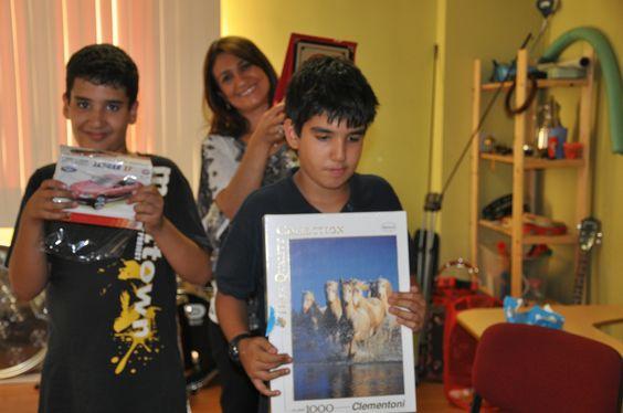 Parin Yakupyan ve ikizleri