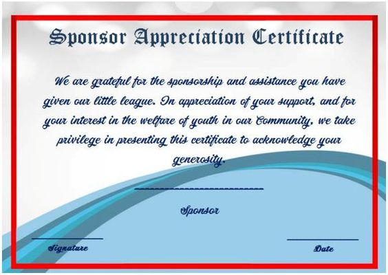Thank You For Participating Certificate Template  Thank You