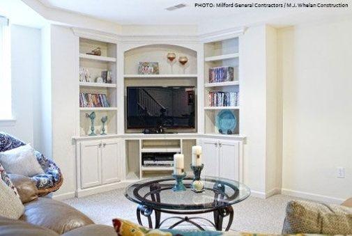 Un Cas A L Angle De La Television In 2020 Livingroom Layout Living Room Furniture Arrangement Small Living Room Ideas With Tv