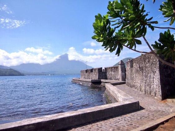 Kalamata fort, South Ternate, Indonesia: