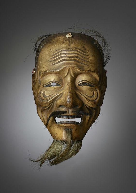 Six Masques De Theatre No Japon Epoque D Edo Chez Cornette De Saint Cyr Paris 31 Octobre 2017 Alain R Truong In 2020 Japanese Mask Japanese Noh Mask Noh Mask