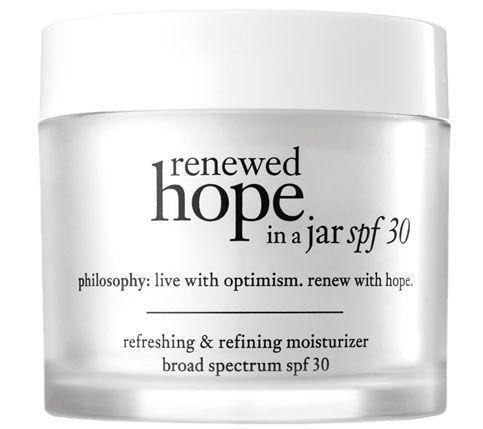 philosophy moisturizer with spf
