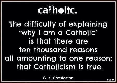 I am Catholic?