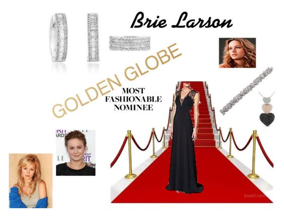 """Golden Globe's Most Fashionable Nominee"" by lnotb71 ❤ liked on Polyvore"