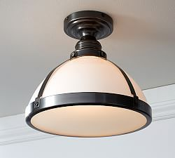Flush Mount Lighting & Flush Mount Lights | Pottery Barn ...