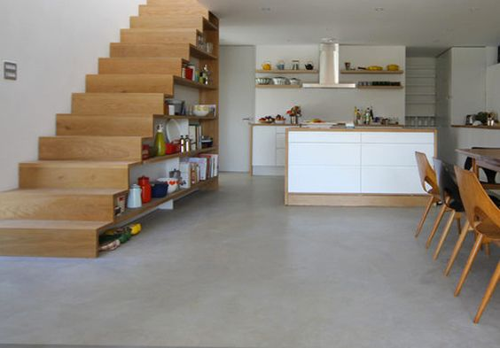Kitchens Under the Stairs-22-1 Kindesign