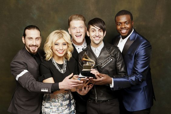 More than 48 hours later, we are STILL feeling the Grammy buzz!  This past weekend was one of the greatest of our entire lives and such a major moment for Pentatonix. It would be impossible to sum it all up into one post or via one photo or video so we thought we'd put a bunch of photos and videos and articles in one place - right here! - and share some of the amazing moments with you a